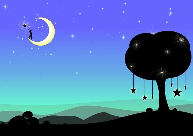 caricare le pietre con la luna