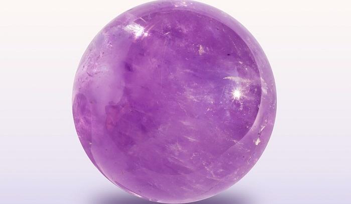 colore viola sfera ametista